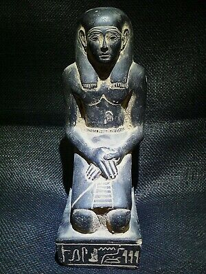 EGYPTIAN ANTIQUE ANTIQUITY Kneeling Statue Of Pepy I Figure 2338-2298 BC
