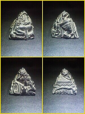 EGYPTIAN ANTIQUE ANTIQUITY Four Sided Pyramid Figure Sculpture 2558-2540 BC