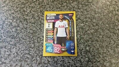 Match Attax Champions League 2019/20 No-320 Lucas Moura Hat-Trick Hero Mint