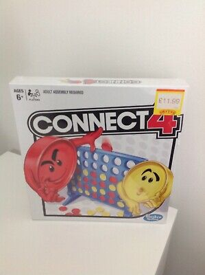 Hasbro Connect 4 Classic Board Game Brand New In Cellophane