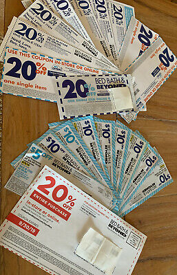 20 bed bath beyond coupons - 20% ENTIRE PURCHASE & 10 Off 30