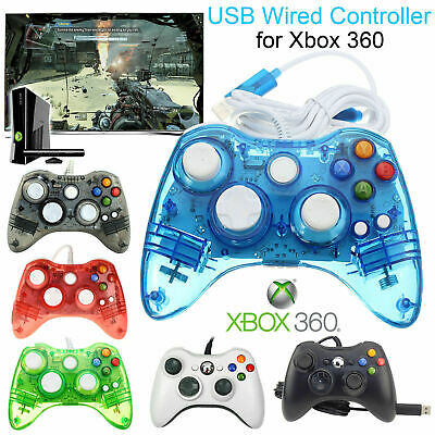 Gamepad Microsoft Xbox 360 Wired Controller Joystick Controller PC Windows USB
