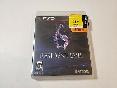 Resident Evil 6 (Sony PlayStation 3, 2012) BRAND NEW Ps3 FREE SHIPPING