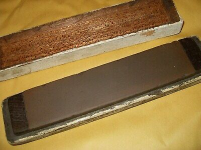 Vintage Sharpening Stone - 200mm x 48mm - As Photo's