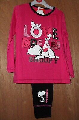 peanuts snoopy kids cotton pj 4-5 yrs new with tags