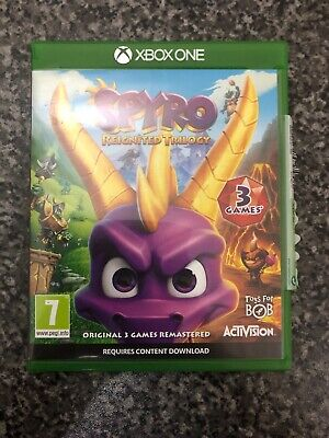 Spyro Reignited Trilogy xbox One Mint Condition