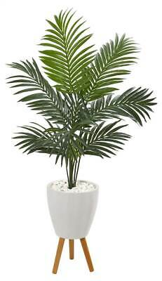 8.5/' Artificial Kentia Palm Trees Silk Plant Extra Full