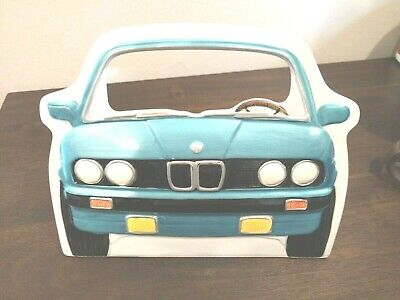 Vintage 1988 Exclusive Gifts BMW 318 325 328 M3 E30 3  Ceramic Picture Frame