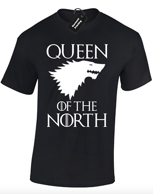 Queen Of The North Unisex T Shirt Game King Snow Stark Thrones Lannister Wolf