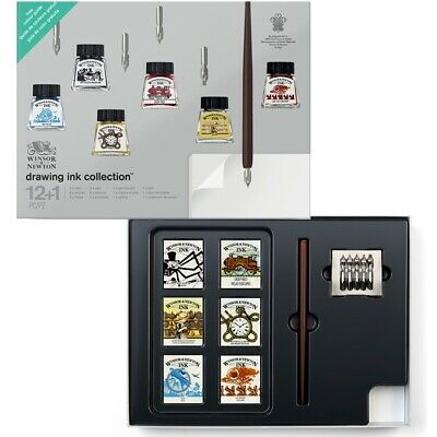 Winsor & Newton Drawing Ink Collection Set of 13