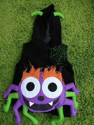 Spider Boys Girls Hoodie Dressing Up Outfit Costume 18-24 months