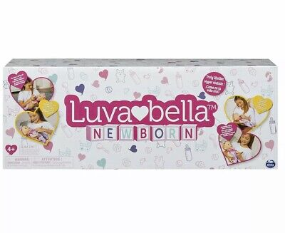 Luvabella Newborn Blonde Hair Interactive Baby Doll- NEW IN BOX!