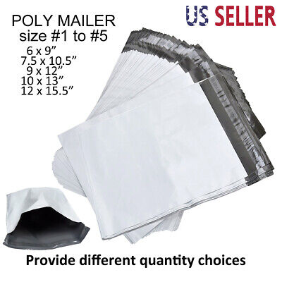 """25-1000 24/"""" x 24/"""" Poly Mailers Envelopes Plastic Shipping Bag Mailing 24x24 Inch"""