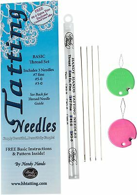 Handy Hands Y9 Tatting Needle for Yarn Pack of 3