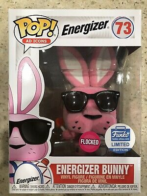 Funko Pop! Energizer Bunny #73 Flocked Funko Limited Exclusive