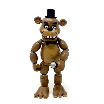 """Funko Articulated Action Figure Five Nights at Freddys 5"""" Freddy Microphone FNAF"""