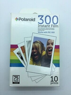 Polaroid Instant 300 POLPIF300 10 Print PIC-300 Film Pack Expired NEW Sealed NIP