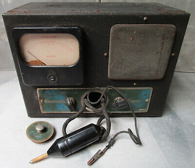 University Radio Equipment VINTAGE SIGNAL TRACER / Test Equipment Meter
