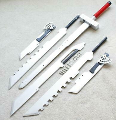Functional Squall Gunblade Revolver Sword Cloud Buster