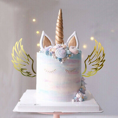 Angel Wngs Party decoration Cupcake Cake Topper Picks Babyshower Caketopper