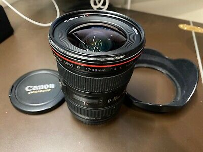 Canon EF 17-40 mm f/4 L USM Lens - Black - 8806A002 - For DSLR/Mirrorless Camera