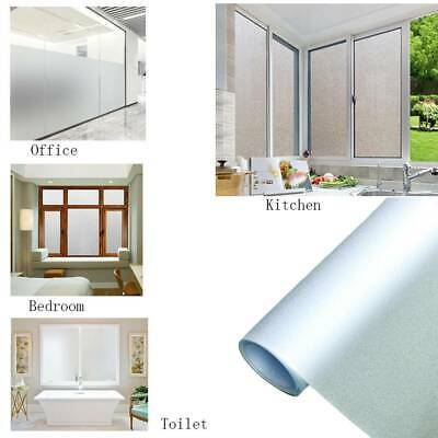 Privacy Frosted Door Window Glass Film Etched Opal Self Adhesive Vinyl 45x200cm