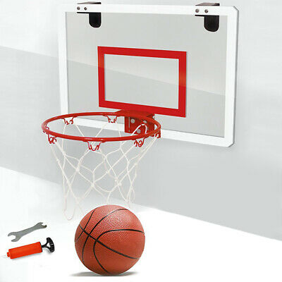 Mini Size Basketball Ring Hoop Net 45.5cm Wall Mounted Outdoor Indoor Hanging