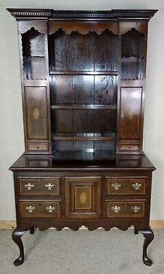Edwardian Mahogany Inlay Dresser, nationwide delivery available