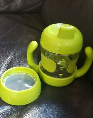 Oxo Tot Sippy Cup With Removable Handles And Leak Proof Valve