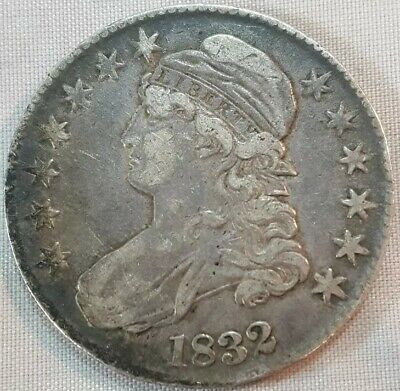 1832 Capped Bust US Half Dollar 50 Cent Piece (Silver) Liberty