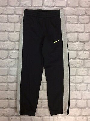 Nike Boys Uk 8-10 Years Black Joggers Sweatpants Pants Bottoms Activewear