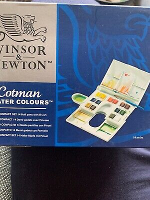 Winsor And Newton Cotman Water Colours. New