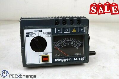MEGGER MJ159 Hand Cranked Insulation & Continuity Tester