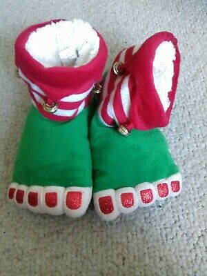 Christmas elf slippers Next size 13