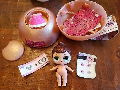 LOL Surprise Doll Glitter Series FANCY Pink Dress and Bow