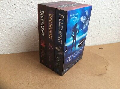 Divergent Series Boxed Set (books 1-3) by Veronica Roth Paperback Book