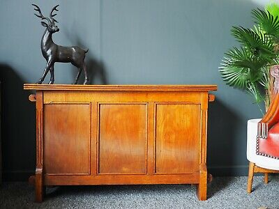 Antique Arts & Crafts Oak Coffer or Trunk UK DELIVERY AVAILABLE