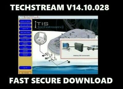 Latest version V14.10.020 Toyota TIS Techstream download link