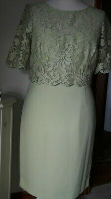 Mother of the bride/groom BNWT Kaliko Green occasion dress size 16 RRP £129