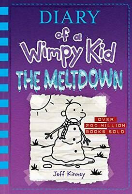 Diary of a Wimpy Kid: The Meltdown (book 13) by Jeff Kinney (HARDBACK BOOK) ū