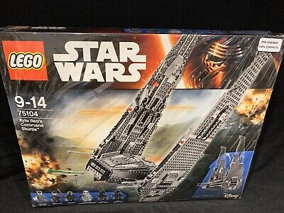 lego Star Wars set number 75104 pre-owned, Kylo Ren's Command Shuttle.