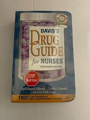 Davis's Drug Guide for Nurses + Resource Kit CD-ROM__________0202