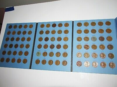Lincoln Cents  Whitman Folder  Includes coins .........................D3-102-L