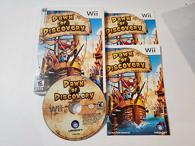 Dawn of Discovery (Nintendo Wii, 2009) complete, tested & FREE SHIPPING, good