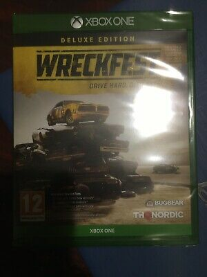 Wreckfest Deluxe Edition Xbox One Game Brand New Sealed Season Pass
