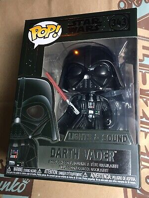 Rare Exclusive Funko POP! Star Wars Darth Vader Lights & Sounds #343 IN HAND