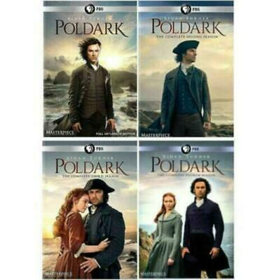Poldark: Complete Series Seasons 1-4 DVD *New*