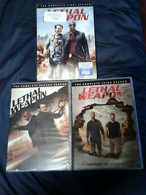 Lethal Weapon - The Complete Series (DVD,