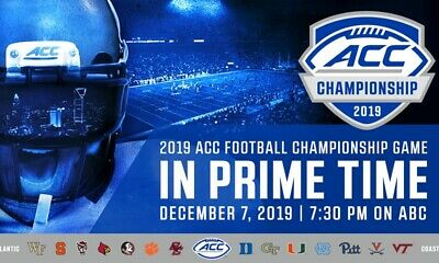 ACC Championship Tickets LOWER LEVEL (Sec 125) **READ**