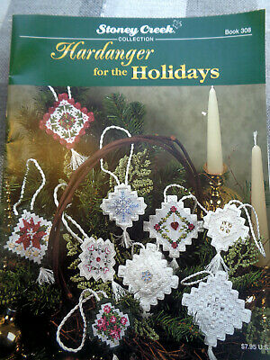 """Stoney Creek Collection """"For the Holidays"""" Christmas Pattern Book 308"""